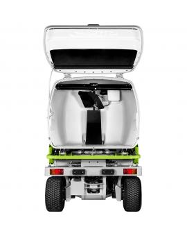 Профессиональный полноприводный райдер с фронтальной декой 132 см и гидравлической выгрузкой травосборника Grillo FD 13.09 4WD
