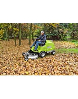 Садовый райдер Grillo FD 220 R Vanguard с фронтальным режущим механизмом и встроенным травосборником