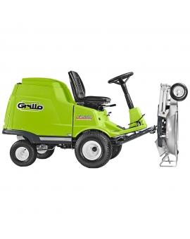 Садовыйрайдер Grillo FD 280B&S VANGUARD с фронтальным режущим механизмом и встроенным травосборником