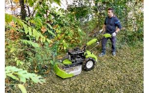 Гидростатическая косилка для высокой травы и кустов  Grillo CL 75