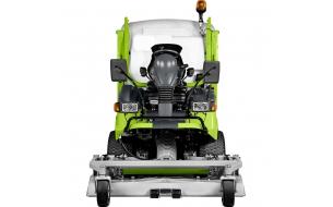 Профессиональный полноприводный райдер с фронтальной декой и гидравлической выгрузкой травосборника Grillo FD 2200 4WD