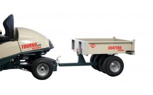 Тележка-прицеп Cramer Quattro Trailer с механизмом опрокидывания